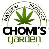 CHOMI'S GARDEN CBD OIL logo