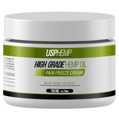 USPHEMP PAIN FREEZE CREAM sin fondo